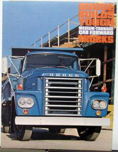 1964 Dodge Truck Medium Ton Cab Forward C500 600 700 Sales Folder Rev 9 63