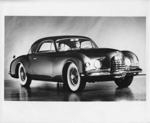 1952 Chrysler K-310 Concept Idea Show Car Press Photo 0025 - Ghia
