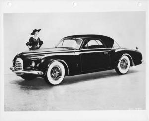 1952 Chrysler K-310 Concept Idea Show Car Press Photo 0027 - Ghia