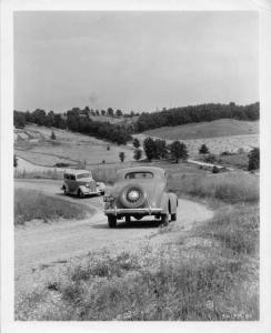 1935 General Motors Proving Grounds Press Photo 0020
