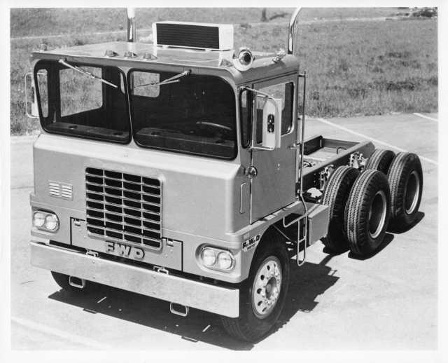 1960-1965 FWD Truck Press Photo 0011