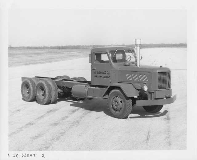 1953 FWD 10 Wheel Cab and Chassis Truck Press Photo Lot 0016 - Ed Holloran & Son