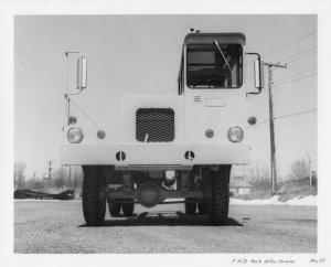 1968 FWD 4x4 10 Ton Carrier Front View Press Photo 0018