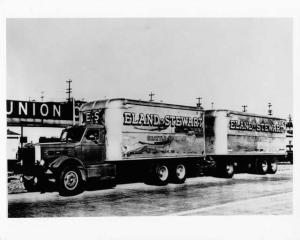 1950 Sterling Box Truck and Trailer Press Photo 0060 - Eland-Stewart Freight