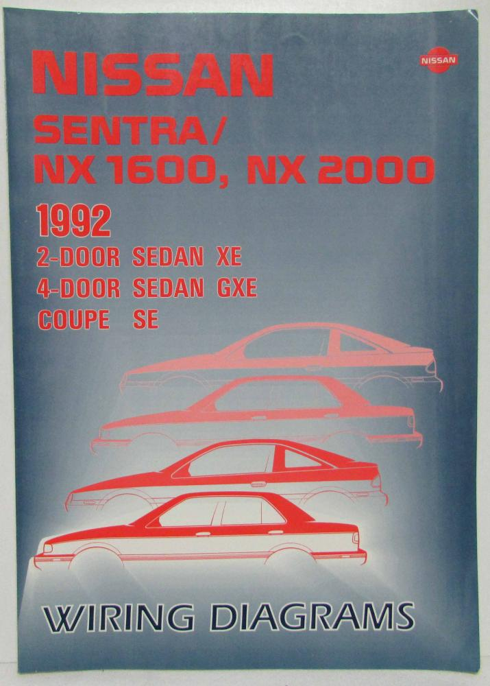 1992 Nissan Sentra Nx