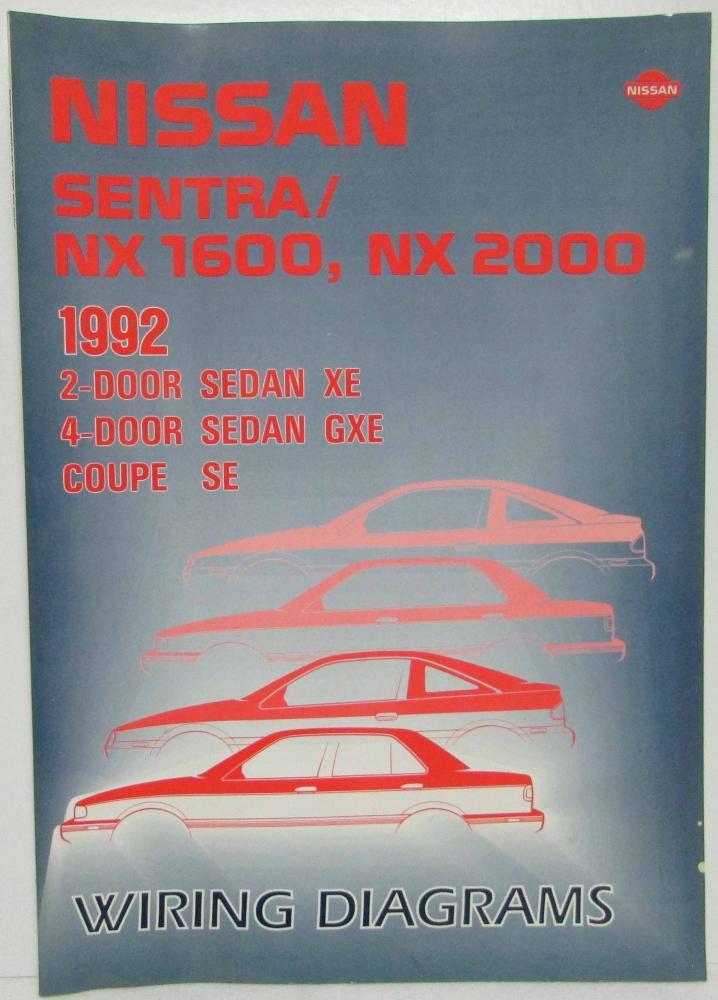 1993 Nissan Stanza Altima 4