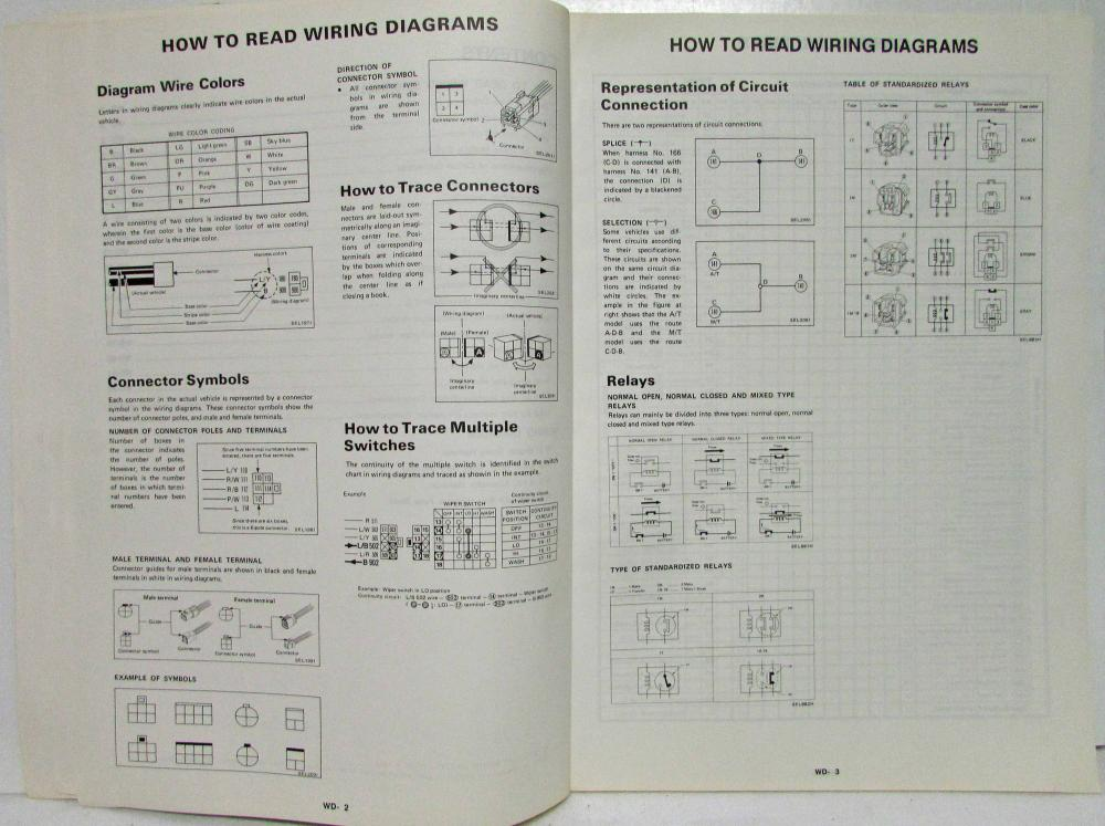 1993 Nissan 300zx 2 Seater Gll And 2 2 Electrical Wiring Diagram Manual