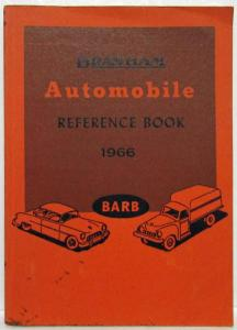 1966 Branham Automobile Reference Book GMC Rambler Oldsmobile