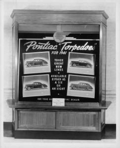 1941 Pontiac Ads in Christian Science Monitor Display Case Photo 0017
