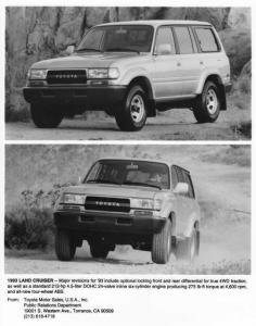 1993 Toyota Land Cruiser Press Photo 0022