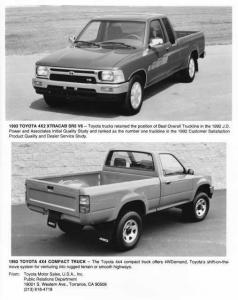 1993 Toyota Pickup Truck Press Photo 0025