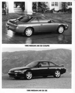 1995 Nissan 240SX Press Photo 0002