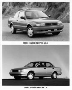 1995 Nissan Sentra Press Photo 0003