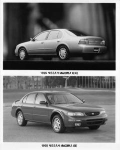 1995 Nissan Maxima Press Photo 0004