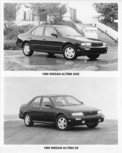 1995 Nissan Altima Press Photo 0005