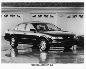 1995 Nissan Maxima Press Photo 0007