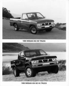 1995 Nissan Pickup Truck Press Photo 0008