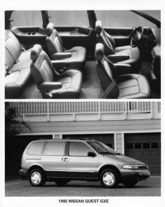 1995 Nissan Quest Press Photo 0010