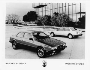 1986 Maserati Biturbo E Press Photo 0003