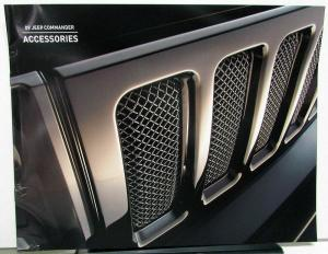 2009 Jeep Commander Dealer Accessories Sales Brochure Mopar Options Add Ons