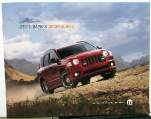 2008 Jeep Compass Dealer Accessories Sales Brochure Mopar Options Add Ons