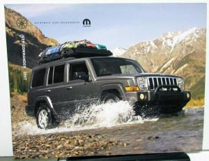 2007 Jeep Commander Dealer Accessories Sales Brochure Mopar Options Add Ons