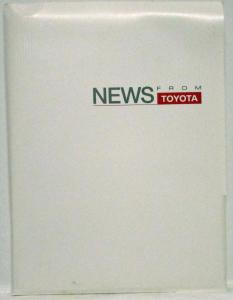 2001 Toyota Full Line Press Kit - MR2 4Runner Land Cruiser Camry Celica Corolla