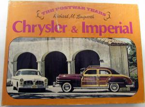 1945 - 1964 Chrysler Imperial 300 Town Country Woody Postwar Year Reference Book