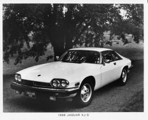 1986 Jaguar XJ-S Press Photo 0042