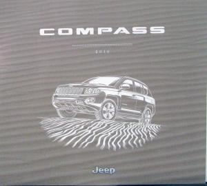 2016 Jeep Compass Prestige Color Sales Brochure Original Oversized