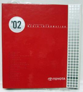 2002 Toyota Cars & Trucks Press Kit - Celica Prius MR2 Corolla RAV4 Tacoma