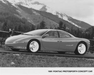 1991 Pontiac ProtoSport4 Concept Car Press Photo 0095