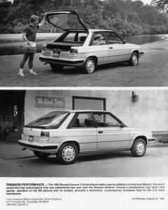 1984 Renault Encore 3-Door Hatchback Press Photo 0018