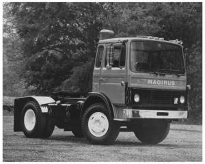 1970s Iveco Magirus Model 200 A13 Press Photo
