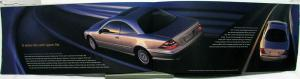 2001 Mercedes Benz CL-Class Dealer Prestige Sales Brochure Large