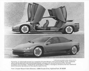 1988 Chrysler Portofino Concept Car Press Photo 0058