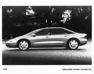 1993 Oldsmobile Anthem Concept Car Side View Press Photo 0277