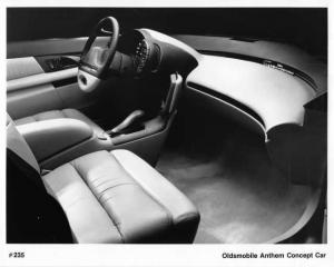 1993 Oldsmobile Anthem Concept Car Interior View Press Photo 0278