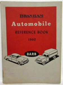 1960 Branham Automobile Reference Book Oldsmobile Pontiac Edsel GMC