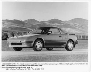 1986 Toyota MR2 Press Photo 0028