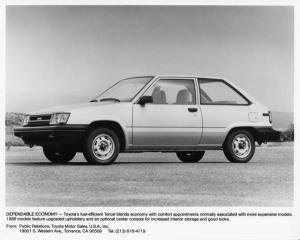 1986 Toyota Tercel Press Photo 0033