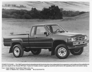 1986 Toyota Xtracab SR5 Sport Pickup Press Photo 0036