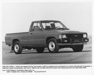 1986 Toyota One-Ton Pickup Truck Press Photo 0037