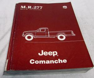 1985 Jeep Comanche Dealer Mechanical Service Shop Manual M.R.277 Orig