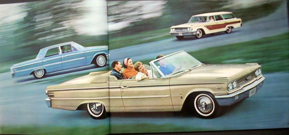 Original 1963 Ford Super Torque 427 390 352 289 Galaxie