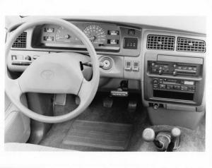 1993 Toyota T100 4wd Interior Press Photo 0039