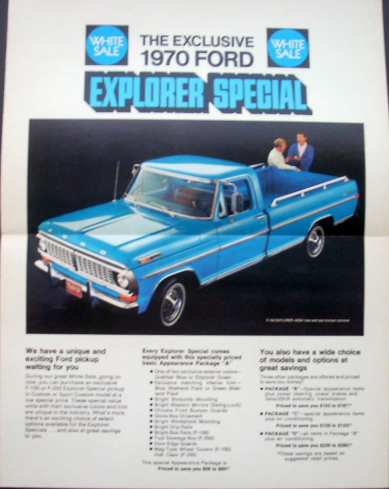 on 1960 Ford F100 Pickup Truck