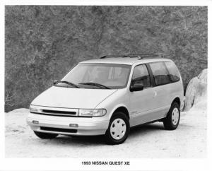 1993 Nissan Quest XE Press Photo 0014