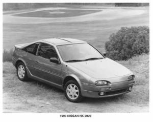 1993 Nissan NX 2000 Press Photo 0018