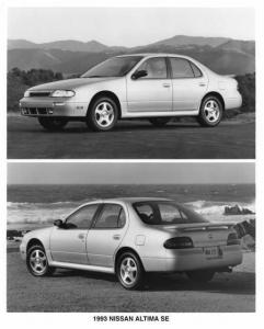 1993 Nissan Altima SE Press Photo 0028